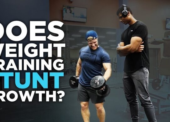Does Lifting Weights Stunt Growth?