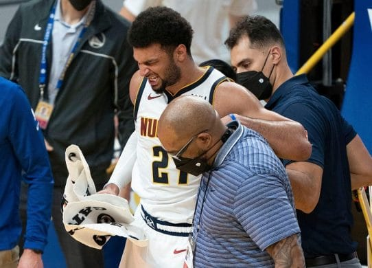 Jamal Murray's late-game knee injury a potentially devastating blow to Nuggets !
