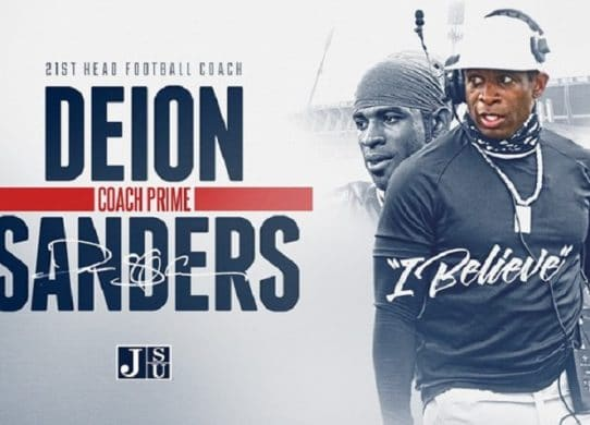 This is the right time for 'Coach Prime,' Deion Sanders, to lead Jackson State. 'It was a calling.' !