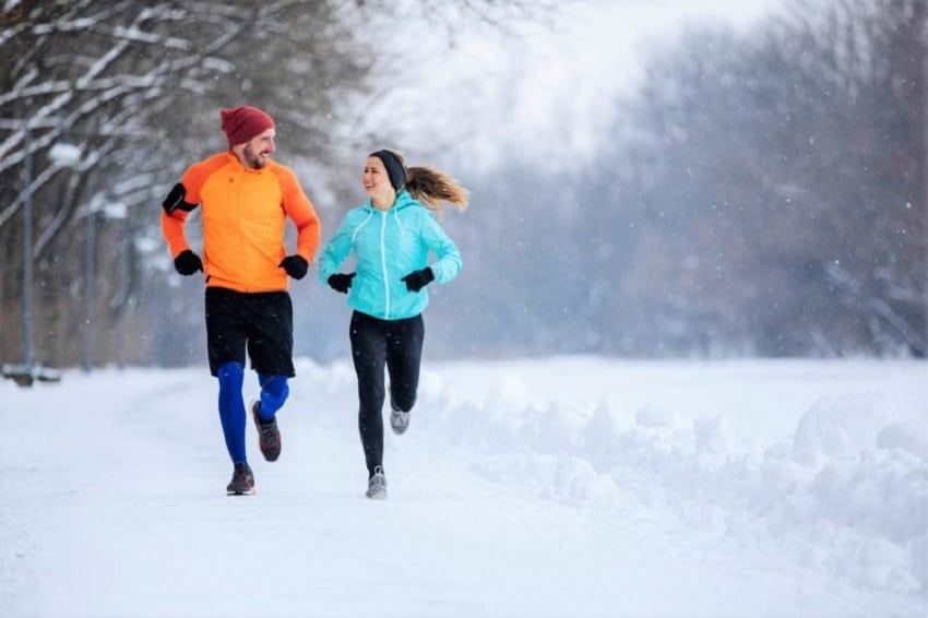 Feel the Brrr Exercising in the Cold Can Give Your Workout a Boost !