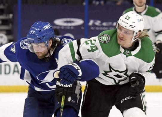 Point-a-game Stars C Hintz to have surgery for tendon issue !