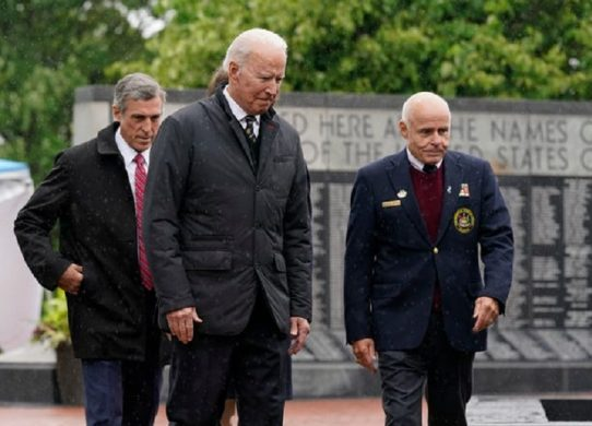 'This is a hard day for us' Biden honors son Beau in Memorial Day remarks on anniversary of his death !