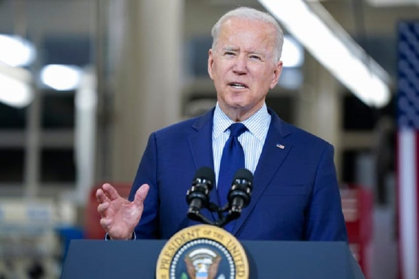 Biden offers to keep 2017 Trump tax cuts intact in infrastructure counteroffer to GOP !