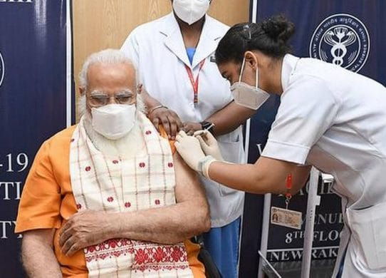 Fact Check History shows India did not lack access to vaccines as claimed by PM Modi !