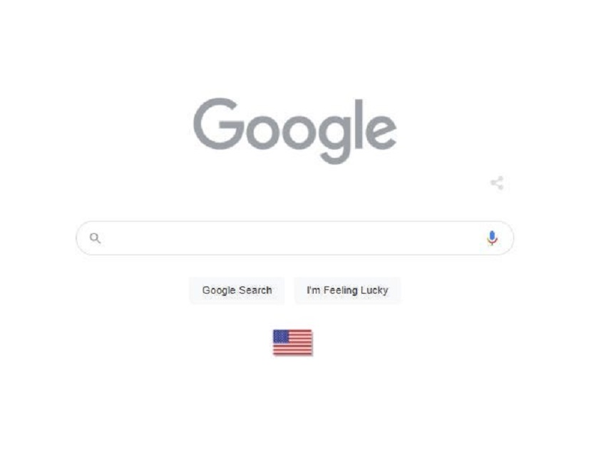 Google goes gray for Memorial Day and adds an American flag to its Google Doodle !