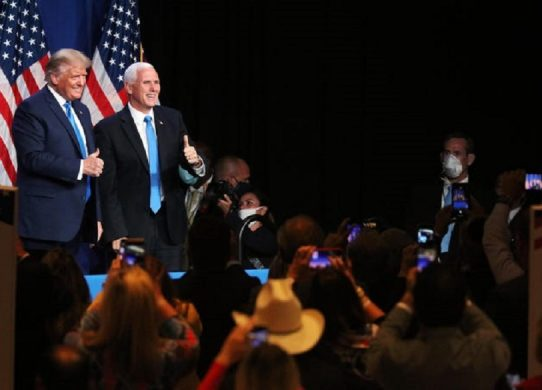 Mike Pence booed, called traitor at conservative Christian conference !