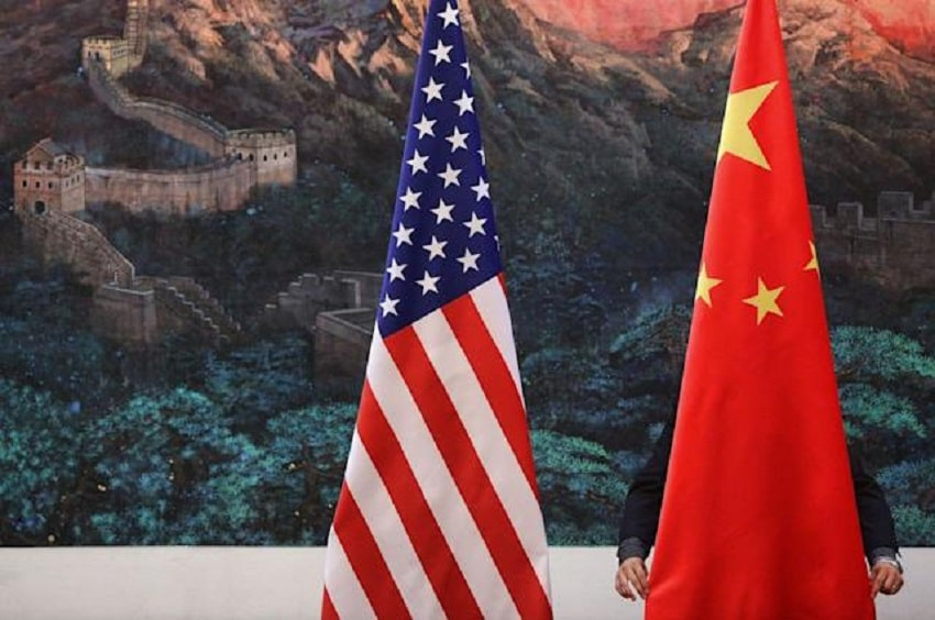 US, China trade officials hold first phone call, agree to promote 'healthy' ties !