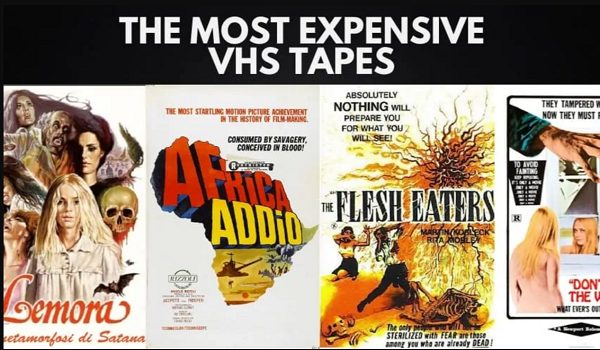 most expensive vhs tape