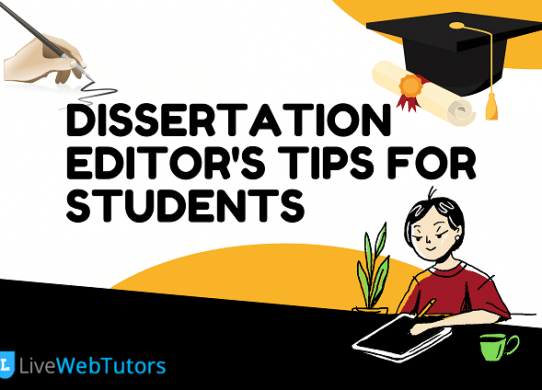 Dissertation Editor's Tips for Students