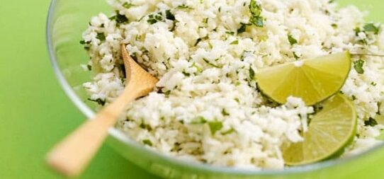 cauliflower rice chipotle review